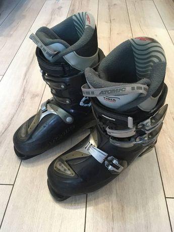 Ботинки Atomic 41 (лыжные) + Лыжи Blizzard