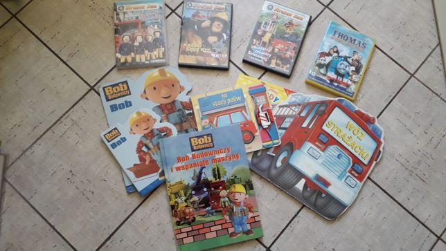 Bajki zestaw Bob budowniczy + puzzle płyty DVD gratis