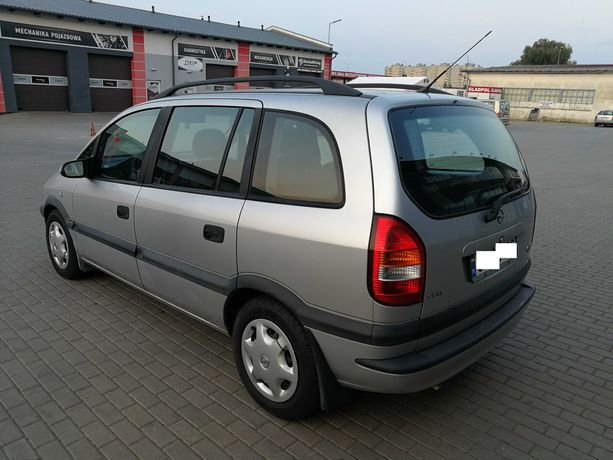 Opel Zafira GAZ LPG  Sekwencja  7 miejsc