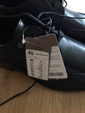 Nowe buty np. do garnituru