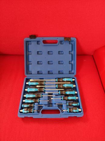 Zestaw śrubokrętów  do pobijania w walizce wyprzedaż