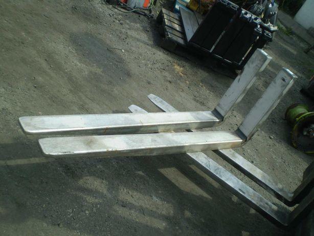 widły do spożywki 150 cm obite aluminium, wózek widłowy części