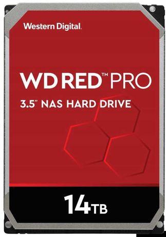 Жесткий диск WD Red Pro WD141KFGX 14 ТБ; 3,5 дюйма; 256 МБ 7200 об/мин