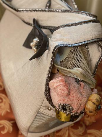 Сумка-переноска для маленькой собачки (France)