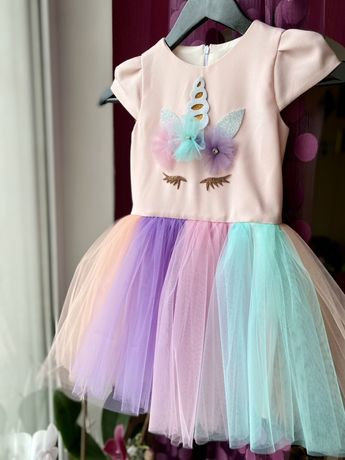 Платье лол и единорог