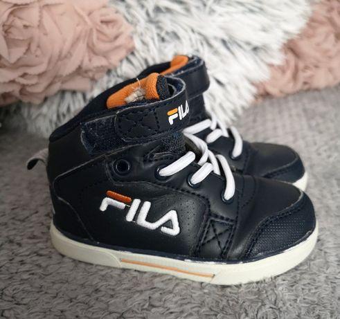 Buty trampki za kostkę FILA r. 21