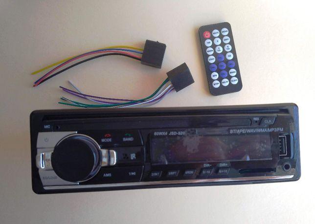 Популярна магнітола Pioneer JSD-520 4x60W c USB і Bluetooth магнітола