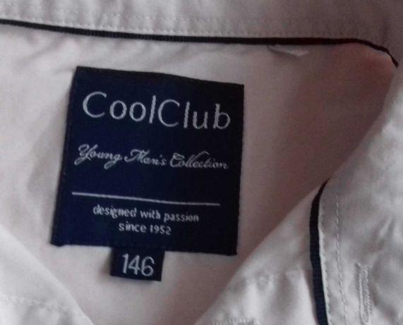 Sprzadam koszule biało na 140 roz.