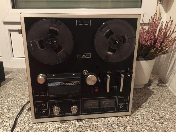 Magnetofon szpulowy AKAI 1721 W