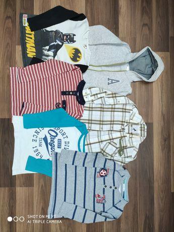 Ubranka dla chłopca r.98-104