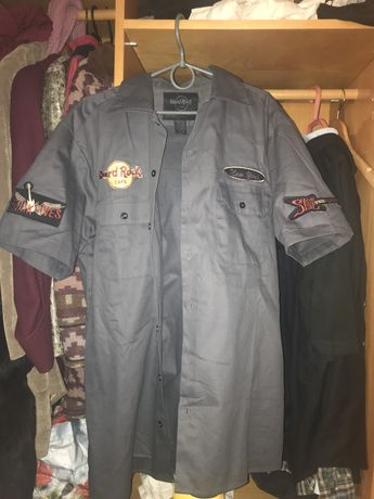 Рубашка Hard Rock Cafe,как Carhart или Dickies
