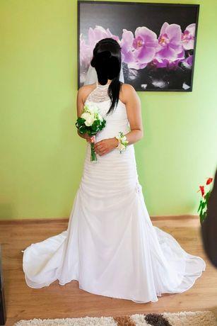 Suknia ślubna r38