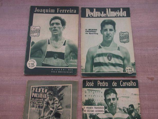 Revista ÍDOLOS/SPORTING CAMPEÕES de Ciclismo (2) Atletismo (2)