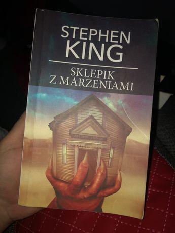 Ksiazka Stephen King Sklepik z marzeniami