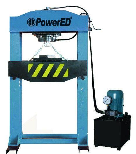 Prensa Elétrica 100 Toneladas Serzedo E Perosinho - imagem 1
