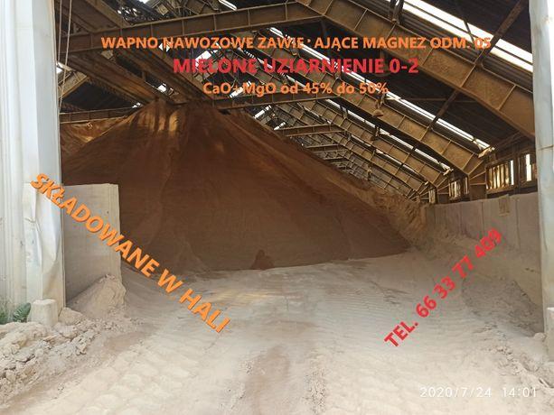 Wapno Nawozowe Dolomitowe zawierające Magnez CaO+MgO 45% do 50%