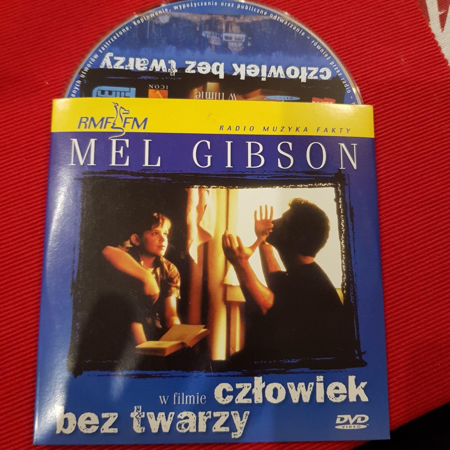 Człowiek bez twarzy * film DVD * Mel Gibson płyta nowa