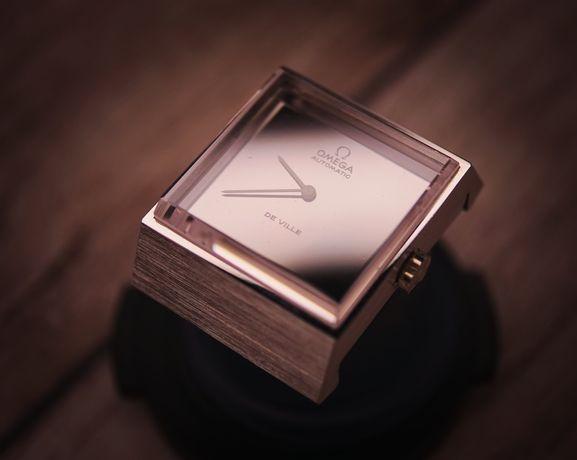 Omega NOS stalowa damska swiss made zegarek szwajcarski cudo vintage