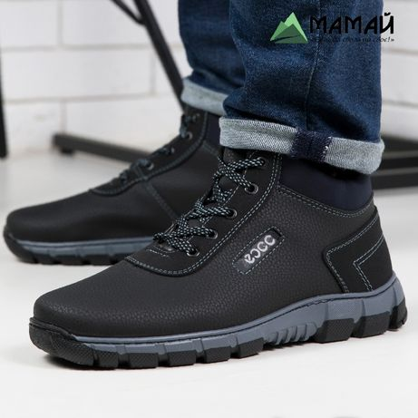 Зимние мужские ботинки -20 °C Черевики кроссовки сапоги № АБ 37
