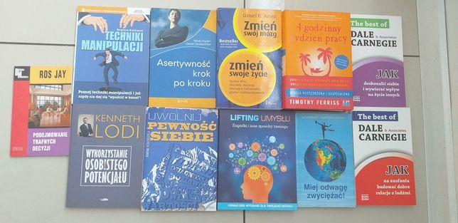 Komplet 11 książek psychologicznych