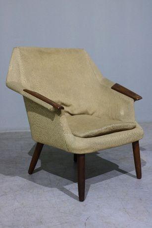 Poltrona de meados do século XX em teca| Armchair| Retro Vintage