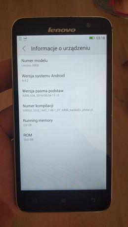 Lenovo A806 smartfon