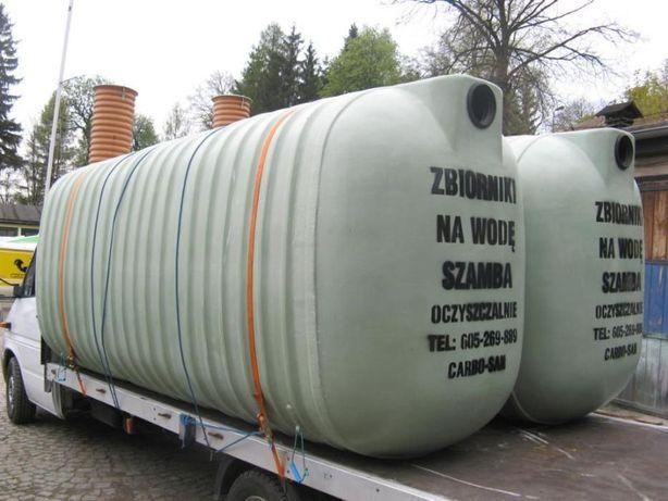 Zbiornik zbiorniki na wodę pitną szambo deszczówkę nowozy RSM 8000 L