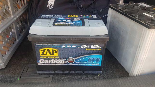Akumulator ZAP Carbon EFB 60Ah 550A 560 08