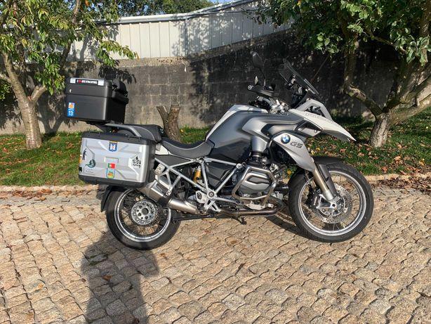 BMW GS R 1200 Branco/Cinza