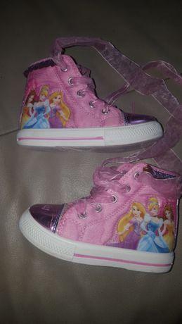 Śliczne buciki Disney dla dziewczynki trampki tenisówki księżniczki