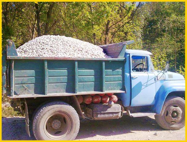 Щебень, песок, отсев, цемент