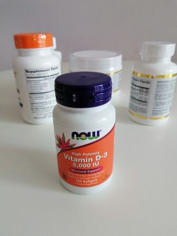 Now Foods, vitamin D-3 (Витамин Д3), 125 mcg