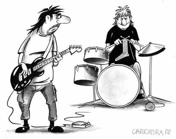 Ударник, музыкант