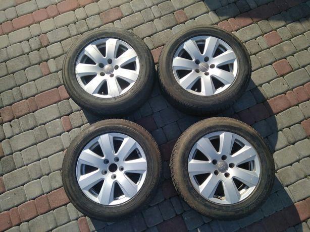Диски Шини 225/55 R16  5*112 7.5Jx16 H2 ET45 Audi A6 оригінал (Зима)
