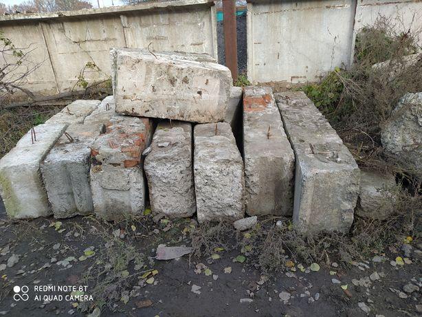 Продам фундаментні блоки. Перемички