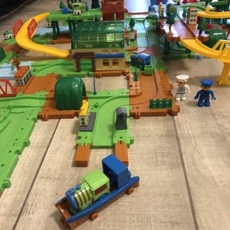 Bradex Конструктор Rail Train, целый город, 4 комплекта