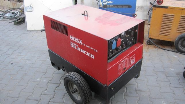 Spawarka spalinowa agregat prądotwórezy mosa rf 20