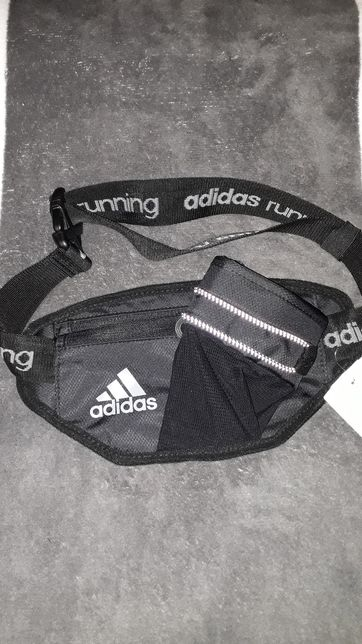 Bolsa de cintura Adidas running, trail ainda com etiqueta