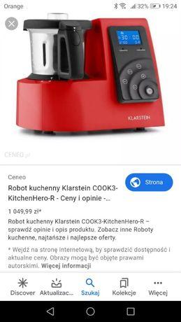Wielofunkcyjny robot kuchenny 9w1 biały Klarstein