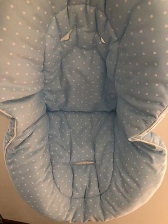 Capa protetora de cadeira de bebé (ovo) + capota para sol