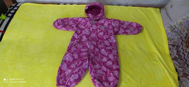 Комбинезон зимний на возврат 1-2 года. Детская одежда от 0 до 1, 5 год