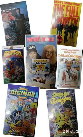 14  VHS diversos
