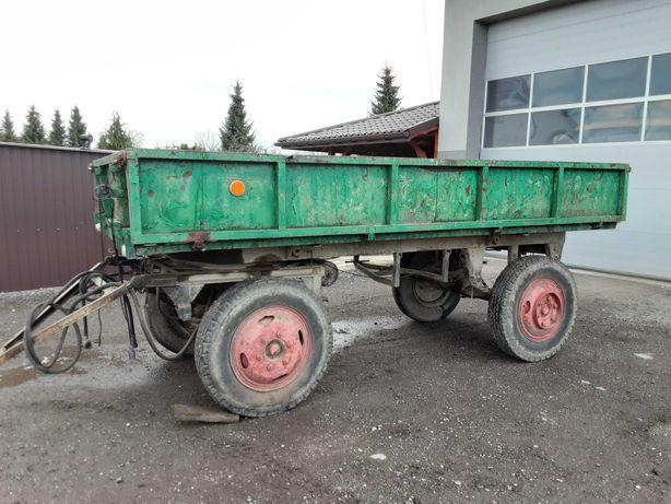 Przyczepa rolnicza wywrotka SANOK D 35 M D35 autosan z dokumentami