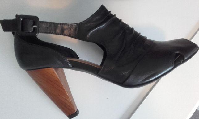 buty półbuty skóra Lasocki 37