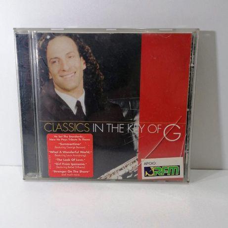 CD de Kenny G - Classics in The Key Of G