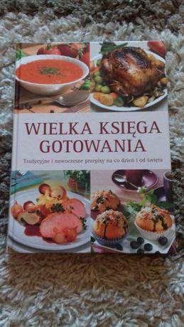 Wielka księga gotowania przepisy kulinarne poradnik