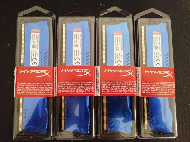Memória ram 1x8GB DDR3 1600mhz HyperX desktop - NOVO SELADO