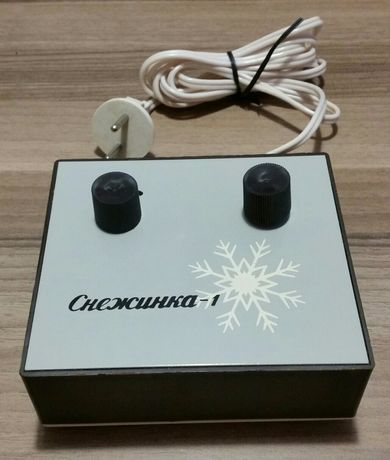 Sterownik lampek choinkowych Śnieżynka-1