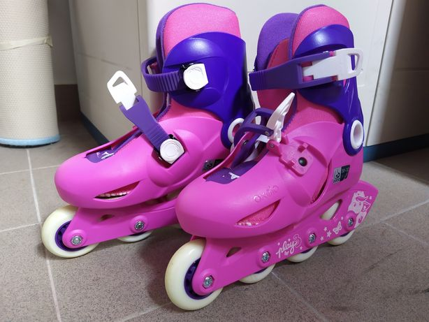 Patins Oxelo rosa