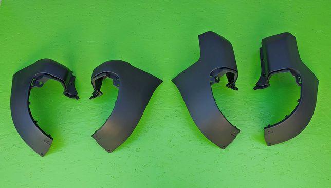 Клик Клики Угол Задний бампер на Citroen Berlingo Peugeot Partner